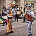 Tambourine & Accordion Men