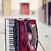 Violin and accordion