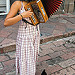 Street Musician with Cat
