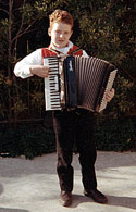Young Al and his accordion