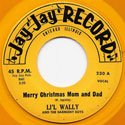 Li'l Wally record: Merry Christmas Mom and Dad