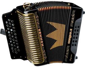 Hohner Corona II Supreme (black)