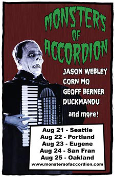 Monsters of Accordion poster
