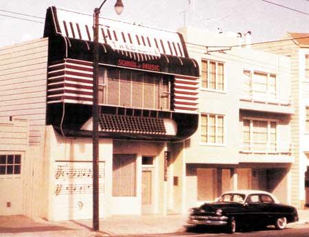 Theodore School of Music, San Francisco