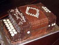 Chocolate Accordion Cake