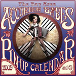 2009 Bay Area Accordion Babes Pin-Up Calendar