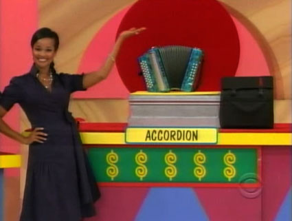Accordion on The Price is Right