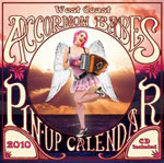 West Coast Accordion Babes Pin-Up Calendar 2010